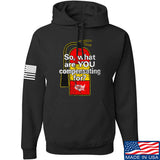 So, What Are YOU Compensating For? Hoodie