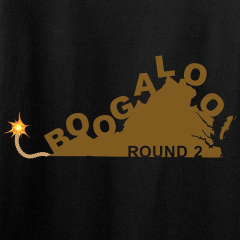 Virginia Boogaloo Round 2 Long Sleeve T-Shirt