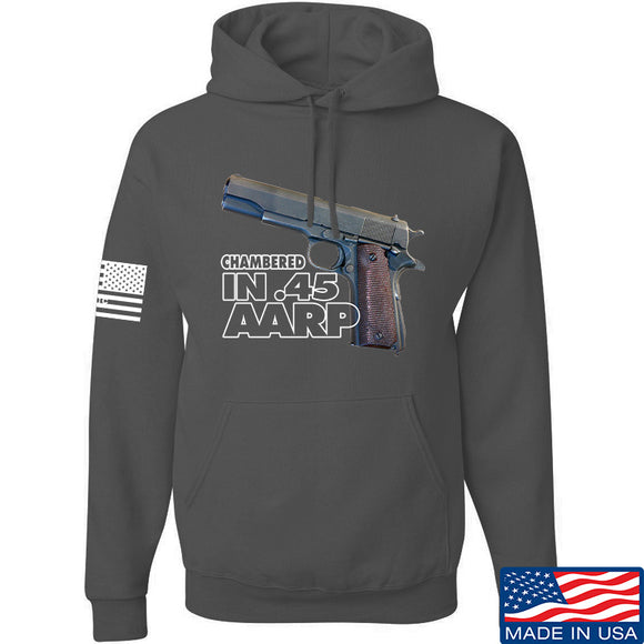 MAC M1911 .45 Hoodie Hoodies Small / Charcoal by Ballistic Ink - Made in America USA