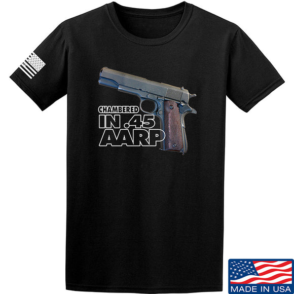 MAC M1911 .45 T-Shirt T-Shirts Small / Black by Ballistic Ink - Made in America USA