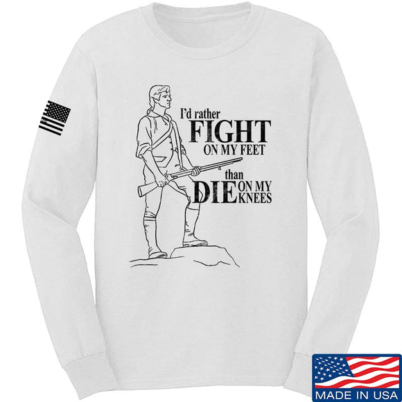 Fight On My Feet Long Sleeve T-Shirt