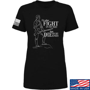 Ladies Fight On My Feet T-Shirt