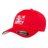 MAC I Will Not Comply Flexfit® Cap Headwear S/M / Red by Ballistic Ink - Made in America USA