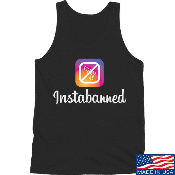 MAC Instabanned Tank Tanks SMALL / Black by Ballistic Ink - Made in America USA