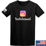 MAC Instabanned T-Shirt T-Shirts Small / Black by Ballistic Ink - Made in America USA