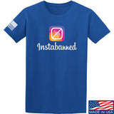 MAC Instabanned T-Shirt T-Shirts Small / Blue by Ballistic Ink - Made in America USA