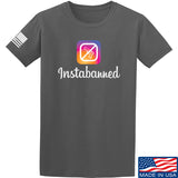 MAC Instabanned T-Shirt T-Shirts Small / Charcoal by Ballistic Ink - Made in America USA