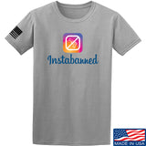 MAC Instabanned T-Shirt T-Shirts Small / Light Gray by Ballistic Ink - Made in America USA