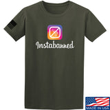 MAC Instabanned T-Shirt T-Shirts Small / Navy by Ballistic Ink - Made in America USA