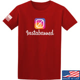 MAC Instabanned T-Shirt T-Shirts Small / Red by Ballistic Ink - Made in America USA
