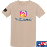 MAC Instabanned T-Shirt T-Shirts Small / Sand by Ballistic Ink - Made in America USA