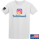 MAC Instabanned T-Shirt T-Shirts Small / White by Ballistic Ink - Made in America USA