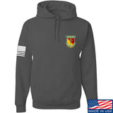 MAC MAC Military Arms Channel Chest Logo Hoodie Hoodies Small / Charcoal by Ballistic Ink - Made in America USA