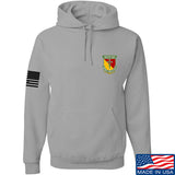 MAC MAC Military Arms Channel Chest Logo Hoodie Hoodies Small / Light Grey by Ballistic Ink - Made in America USA