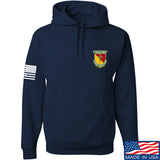 MAC MAC Military Arms Channel Chest Logo Hoodie Hoodies Small / Navy by Ballistic Ink - Made in America USA