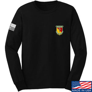 MAC MAC Military Arms Channel Chest Logo Long Sleeve T-Shirt Long Sleeve Small / Black by Ballistic Ink - Made in America USA