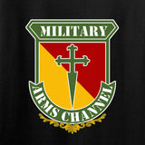 MAC MAC Military Arms Channel Chest Logo Long Sleeve T-Shirt Long Sleeve [variant_title] by Ballistic Ink - Made in America USA