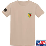 MAC MAC Military Arms Channel Chest Logo T-Shirt T-Shirts Small / Sand by Ballistic Ink - Made in America USA