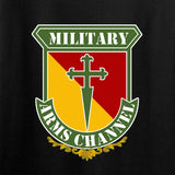 MAC Ladies MAC Military Arms Channel Chest Logo T-Shirt T-Shirts [variant_title] by Ballistic Ink - Made in America USA