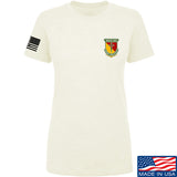 MAC Ladies MAC Military Arms Channel Chest Logo T-Shirt T-Shirts SMALL / Cream by Ballistic Ink - Made in America USA