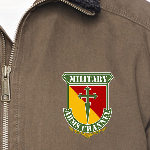 MAC MAC Military Arms Channel Logo Dri Duck Men's Endeavor Jacket Jackets [variant_title] by Ballistic Ink - Made in America USA