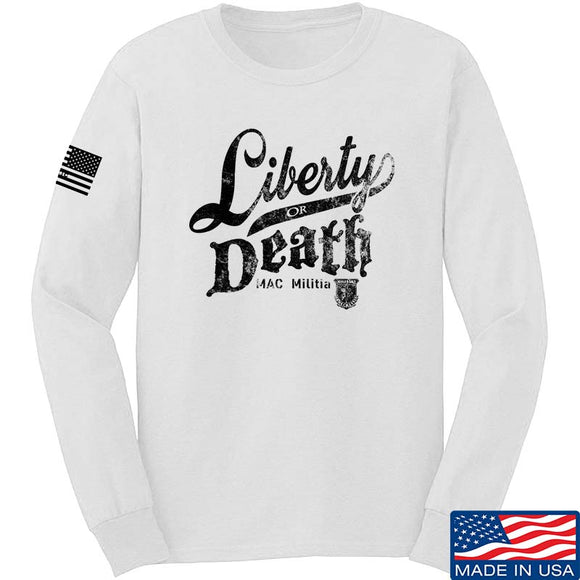 MAC Militia Liberty Or Death Long Sleeve T-Shirt