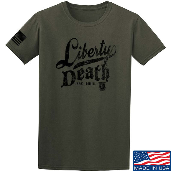 MAC Militia Liberty Or Death T-Shirt