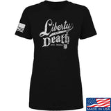 Ladies MAC Militia Liberty Or Death T-Shirt