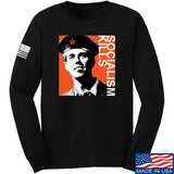 MAC Beto Guevara Long Sleeve T-Shirt Long Sleeve Small / Black by Ballistic Ink - Made in America USA