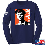 MAC Beto Guevara Long Sleeve T-Shirt Long Sleeve Small / Navy by Ballistic Ink - Made in America USA