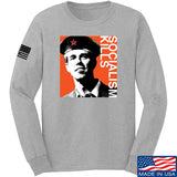 MAC Beto Guevara Long Sleeve T-Shirt Long Sleeve Small / Light Grey by Ballistic Ink - Made in America USA