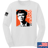 MAC Beto Guevara Long Sleeve T-Shirt Long Sleeve Small / White by Ballistic Ink - Made in America USA
