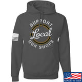 MAC Shop Local Hoodie Hoodies Small / Charcoal by Ballistic Ink - Made in America USA