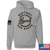 MAC Shop Local Hoodie Hoodies Small / Light Grey by Ballistic Ink - Made in America USA