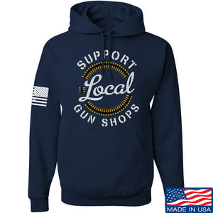 MAC Shop Local Hoodie Hoodies Small / Black by Ballistic Ink - Made in America USA