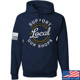 MAC Shop Local Hoodie Hoodies Small / Navy by Ballistic Ink - Made in America USA