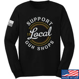MAC Shop Local Long Sleeve T-Shirt Long Sleeve Small / Black by Ballistic Ink - Made in America USA