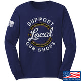 MAC Shop Local Long Sleeve T-Shirt Long Sleeve Small / Navy by Ballistic Ink - Made in America USA