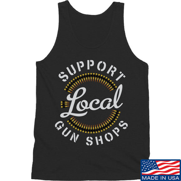 MAC Shop Local Tank Tanks SMALL / Black by Ballistic Ink - Made in America USA