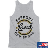 MAC Shop Local Tank Tanks SMALL / Light Grey by Ballistic Ink - Made in America USA