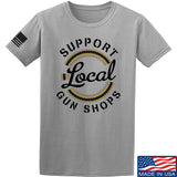 MAC Shop Local T-Shirt T-Shirts Small / Light Gray by Ballistic Ink - Made in America USA