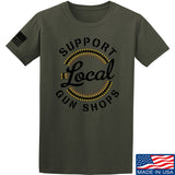 MAC Shop Local T-Shirt T-Shirts Small / Military Green by Ballistic Ink - Made in America USA