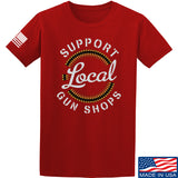 MAC Shop Local T-Shirt T-Shirts Small / Red by Ballistic Ink - Made in America USA
