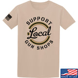MAC Shop Local T-Shirt T-Shirts Small / Sand by Ballistic Ink - Made in America USA