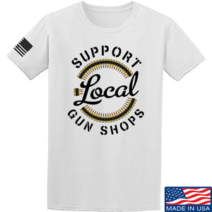MAC Shop Local T-Shirt T-Shirts Small / Black by Ballistic Ink - Made in America USA
