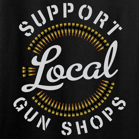 MAC Ladies Shop Local T-Shirt T-Shirts [variant_title] by Ballistic Ink - Made in America USA