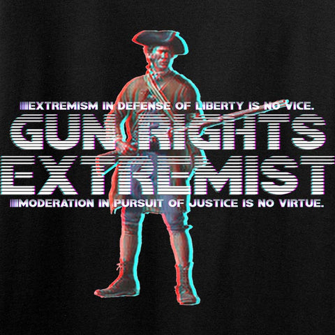 Ladies Gun Rights Extremist T-Shirt