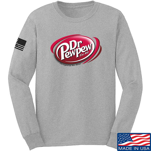 Dr Pew Pew Long Sleeve T-Shirt