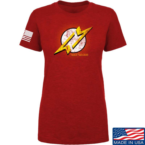 Ladies Max Michel Flash Symbol T-Shirt