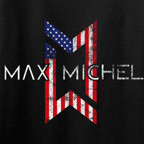 Max Michel USA Flag Logo Tank